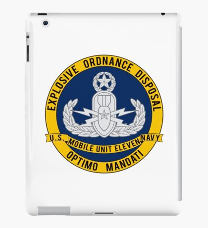 EOD Mobile Unit 11 iPad Case/Skin