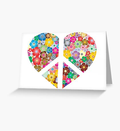 Love to Earth and its Flowers Greeting Card