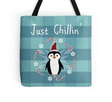 Chill Penguin Tote Bag
