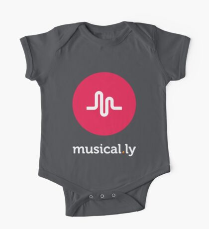 Musical.ly symbol One Piece - Short Sleeve