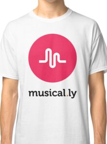 Musical.ly symbol Classic T-Shirt