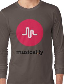 Musical.ly symbol Long Sleeve T-Shirt