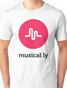 Musical.ly symbol Unisex T-Shirt