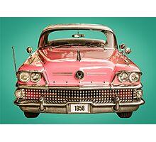 Classic Buick 1958 Century Car Photographic Print