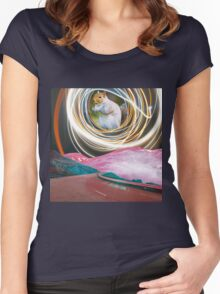 Curious Squirrel Women's Fitted Scoop T-Shirt