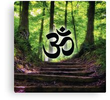 Forest Om Canvas Print