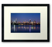 Melbourne Reflections Framed Print