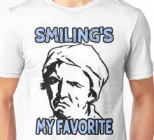 Ironic Smiling is my Favorite Unisex T-Shirt