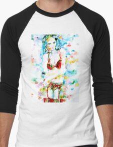 WATERCOLOR WOMAN.17 Men's Baseball ¾ T-Shirt