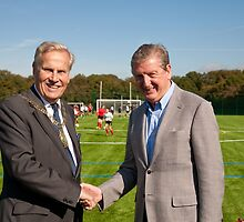 Mayor Of  Bromley & Roy Hodgson England Manager by Keith Larby