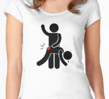 Spank Me Women's Fitted Scoop T-Shirt