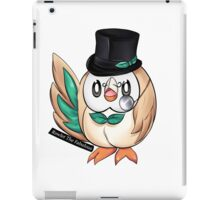 Rowlet The Fabulous. iPad Case/Skin