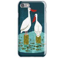 Pelicans by Andrea Lauren  iPhone Case/Skin