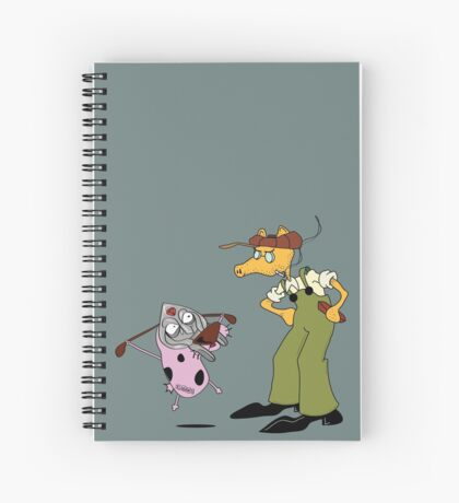 MFCOU RAGE x MADEUGICE  Spiral Notebook