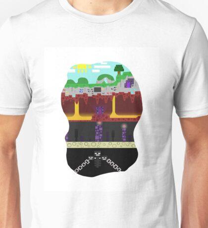 Minecraft Mining Unisex T-Shirt