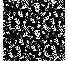 Misfits Crimson Ghost Scattered Photographic Print