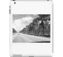 Rural drive  iPad Case/Skin