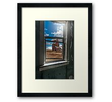 View from the General Store Framed Print
