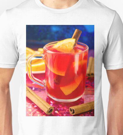 Transparent mug with citrus mulled wine Unisex T-Shirt