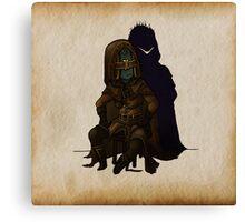 Royal Sorcerer Navlaan Canvas Print
