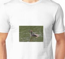 Great Crested Grebe and Fledgling Unisex T-Shirt