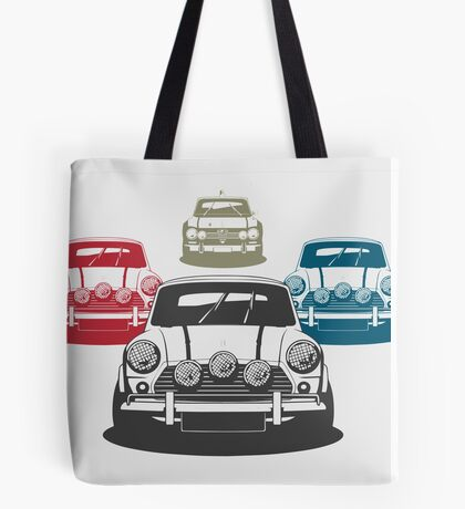 Iconic Car Chase Tote Bag