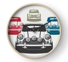 Iconic Car Chase Clock