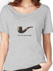 This is not a pipe Women's Relaxed Fit T-Shirt