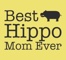 Best Hippo Mom Ever One Piece - Short Sleeve