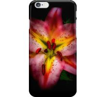 Lily of the lamplight iPhone Case/Skin