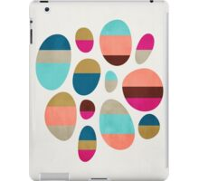 Color-Blocked Pebbles #1 iPad Case/Skin