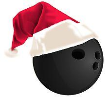 Christmas Bowling Gifts Photographic Print