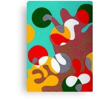 Psychedelic Miami Canvas Print