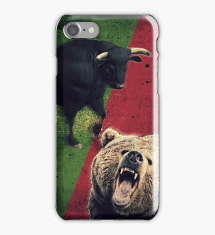 Bulls vs Bears - Trading iPhone Case/Skin