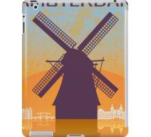 Amsterdam vintage poster iPad Case/Skin