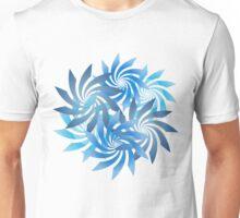 Spiral Cluster - Blues Unisex T-Shirt