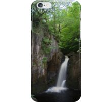 Idyllic Yorkshire dales Waterfall iPhone Case/Skin