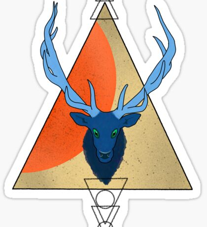 Sacred Spirit Elk Sticker