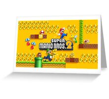 Super Mario Bros. 2  Greeting Card