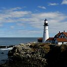 Portland Head Light ~ Part One by artisandelimage