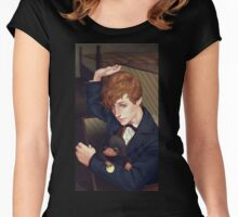 Fantastic Beasts Newt Scamander  Women's Fitted Scoop T-Shirt