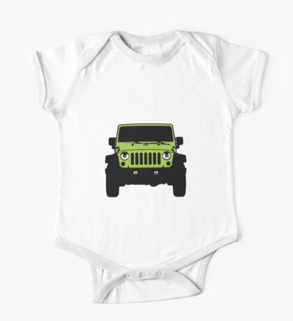 Jeep JK - Rescue Green One Piece - Short Sleeve