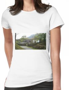Yew Tree Farm, Coniston UK Womens Fitted T-Shirt