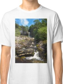 Yorkshire dales Waterfall  Classic T-Shirt