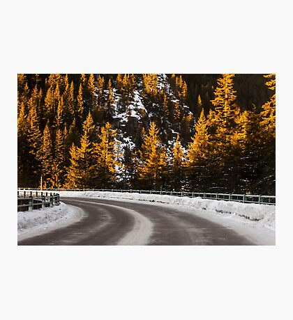 Winter-Rocky-Road Photographic Print