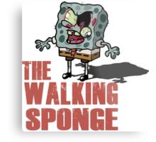 The Walking Spongebob - Walking dead Metal Print