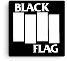 Black Flag tour Canvas Print