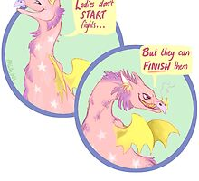 dragons don't start fights by pagalini