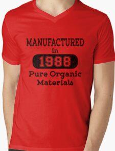 Manufactured in 1988 Mens V-Neck T-Shirt