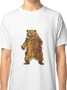 Retro Upright Standing Bear Classic T-Shirt